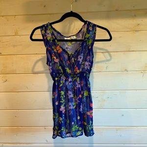 4/$30 Garage | Sheer Floral Blouse